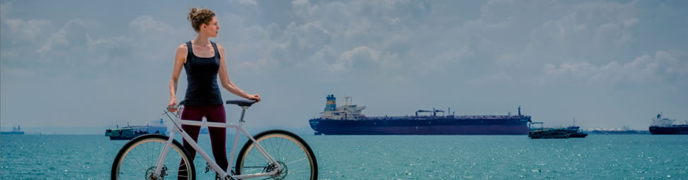 Wherever we may roam … Coast/Cycles in Singapore